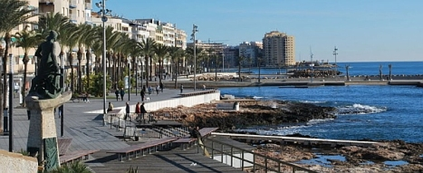 Monumento al Hombre del Mar, lugar en cuyo entorno se realizará el acto
