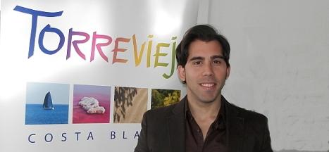 Luis María Pizana Boj, concejal de deportes del Ayuntamiento de Torrevieja