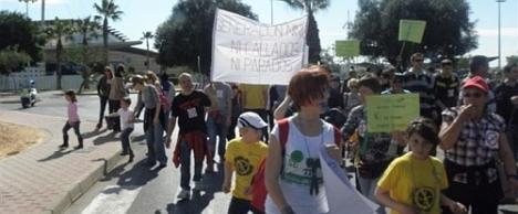 Manifestación educación 20.2.2012 (Archivo)