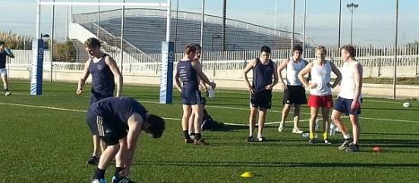 Los noruegos entrenan en la Ciudad Deportiva