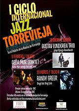 CARTEL I CICLO INTERNACIONAL DE JAZZ DE TORREVIEJA. 2014.CARTEL