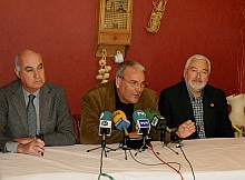 Portavoces de la oposición (Archivo)