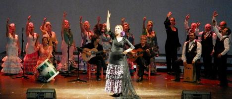 """Actuación de Alba Rociera, en el musical """"Amor por nuestras canciones"""""""