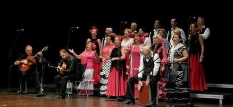 Coro Brisas del Sur, uno de los grupos participantes en la gala