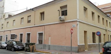 """Antiguo edificio de """"Las Monjas"""", dodne estaban ubicadas varias dependencias municipales"""