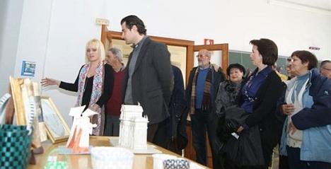 Inauguración de la exposición el pasado año, por el Alcalde (Archivo)