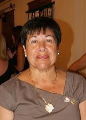 Fina Sánchez, será homenajeada junto a otras mujeres en el Día Internacional de la Mujer, que se celebra el 8 de Marzo