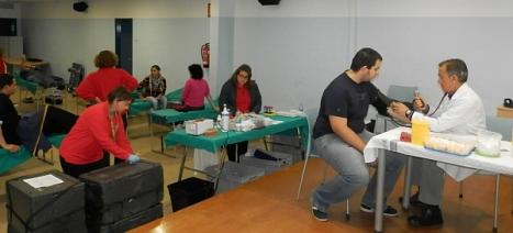 El CIAJ, ene l paseo Juan Aparicio, se onvierte en una clínica esta tarde para facilitar las donaciones