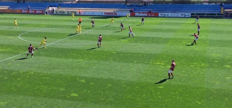 Lance del partido de ayer (Foto cedida por el Club)