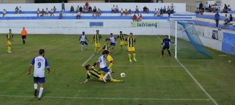 Imagen del Torrevieja-Paterna del pasado 6 de octubre de 2013