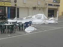 VÍDEO 2: Temporal de Viento en Torrevieja 2