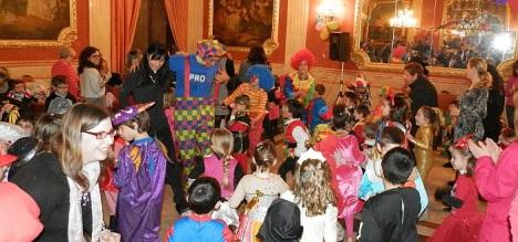 Baile Infantil de Carnaval ene l Casino, año 2013