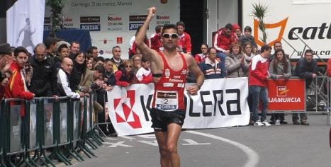 El atleta internacional de Torrevieja, Luis Manuel Corchete