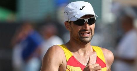 El atleta torrevejense Luis Manuel Corchete