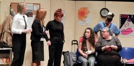 Mujeres y Ley. Dïa Mundial del Teatro 2013