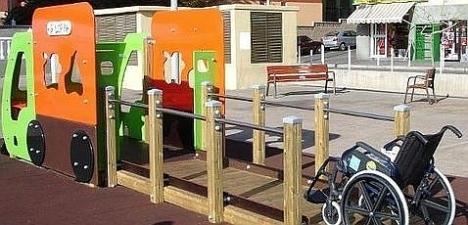 Parque con movilidad reducida (Google)