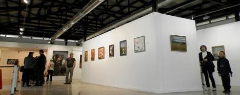 Interior de la Sala de Exposiciones Vista Alegre de Torrevieja