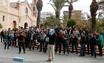 VÍDEO: Concentración policias locales