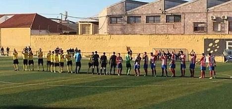 Final de un partido que el Orihuela tuvo en sus manos (Foto Club)