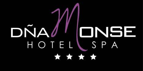 LOGO HOTEL D+æA MONSE SPA BLANCO