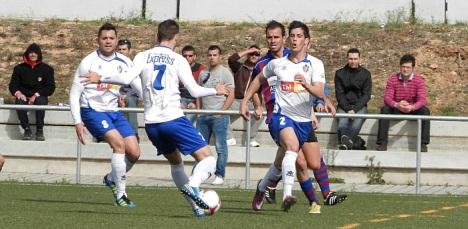 Partido Torrevieja-Eldense que acabó empate a cero (7.4.2013)
