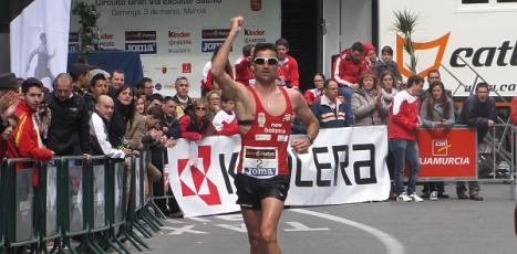 El torrevejense Luis Manuel Corchete, uno de los seleccionados del equipo nacional