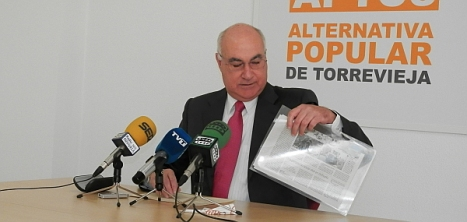 Soler, se dispone a ofrecer su rueda de prensa