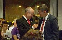 José Miguel Toro, recibe un reconocimiento en Cartagena