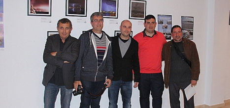 Los creadores de proyecto mastral, con algunos de sus colaboradores habituales