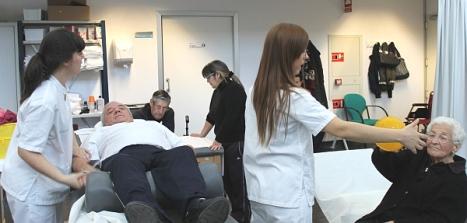 Gimnasio de rehabilitación - Hospital de Torrevieja