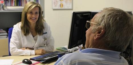 Consulta de Nuorología del Hospital de Torrevieja