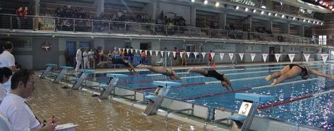 Control de natación (Archivo)