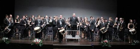 Unión Musical Torrevejense, durante un concierto
