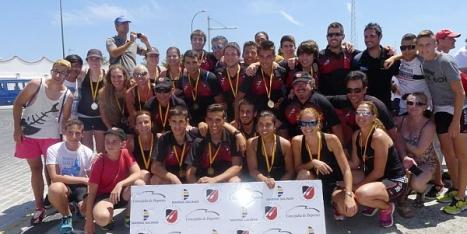 Participantes del Club de Remo Cofradía de Pescadores - Marina Salinas