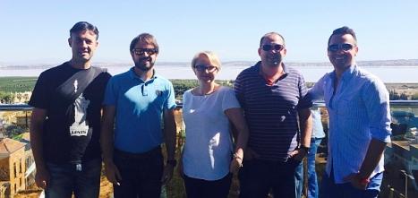Agentes polacos de visita en la Costa Blanca