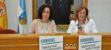 Roasrio M. Chazarra y Susana , presentaron las Jornadas