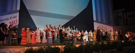 """Momento de la Gala """"Torrevieja mi ciudad"""" de 2013"""
