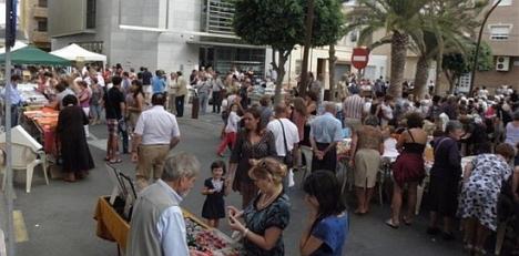 Bolillos en la Mata, año 2011 (Plaza Gaspar perelló)