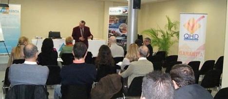 Conferencia ofrecida en la sede de Procota Torrevieja (Archivo O.T.)
