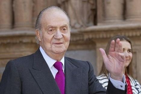 El Rey Juan Carlos I, lo es desde el 22 de Noviembre de 1975