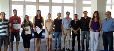 Participantes en la Entrega de los Premios