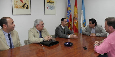 Reunión bilateral Ayutamiento-Iberdrola ayer