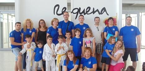 El equipo campeón torrevejense en Requena