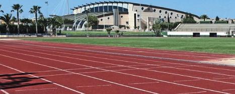 Pistas de Atletismo en la Ciudad deportiva de Torrevieja
