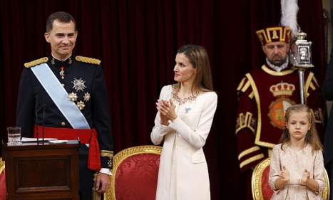 Vídeo íntegro de los actos de proclamación de Felipe VI como Rey de España (19.Junio.2014)