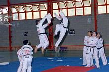 Exhibición de Taekwondo