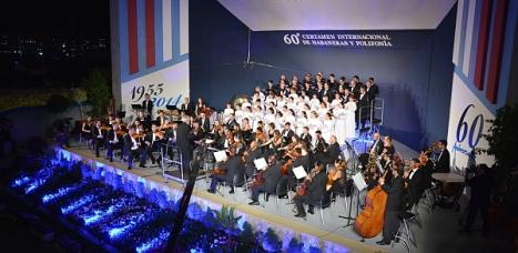 La actuación del Orfeón Donostiarra, el viernes en TVE