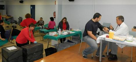 Donación de sangre en Torrevieja (Archivo)