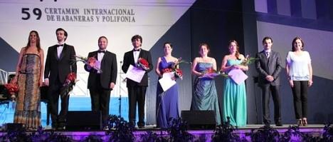 Ganadores de la IV Edición del Certamen de Solistas 2013