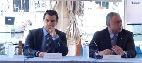 El cónsul de Rusia, junto al alcalde de Torrevieja la pasada semana ene l RCNT